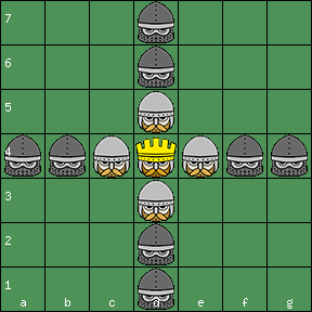 Scottish Ard Ri 7x7 board